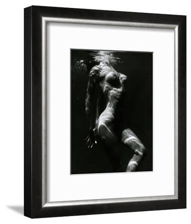 Underwater Nude, c. 1980-Brett Weston-Framed Photographic Print