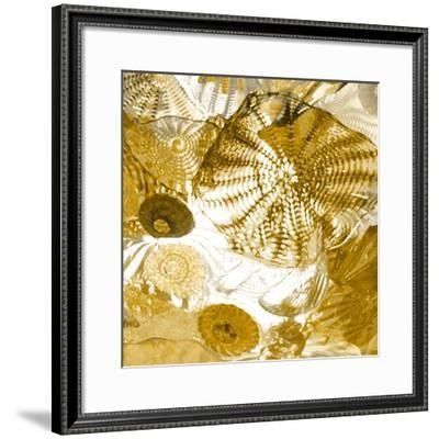 Underwater Perspective in Gold-Charlie Carter-Framed Giclee Print