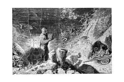 Underwater Photography, 19th Century-Science Photo Library-Giclee Print