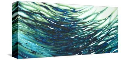Underwater Reflections-Margaret Juul-Stretched Canvas Print