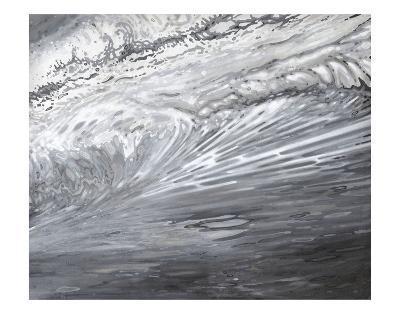 Underwater Turbulance-Margaret Juul-Art Print