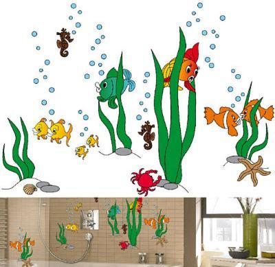 Underwater World 79 Wall Stickers--Wall Decal