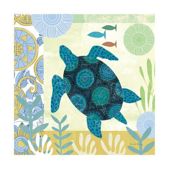 Underwater World IV-Farida Zaman-Art Print