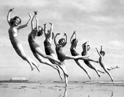 Dancers trained by Lillian Newman by Underwood Archives