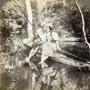 A Fishing Smack by Underwood & Underwood
