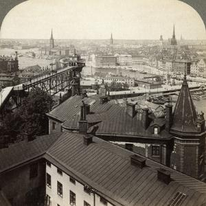 Cityscape, Stockholm, Sweden by Underwood & Underwood