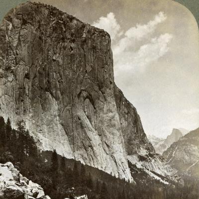 El Capitan and Half Dome, Yosemite Valley, California, USA, 1902