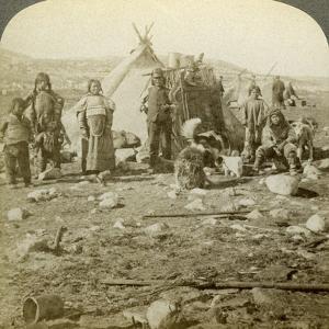 Eskimos, Greenland by Underwood & Underwood
