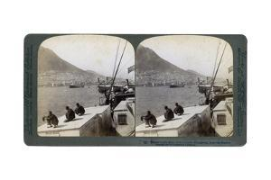 Hong Kong from the Harbour, 1901 by Underwood & Underwood