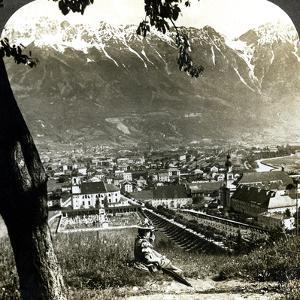Innsbruck and the Bavarian Alps, Tyrol, Austria by Underwood & Underwood