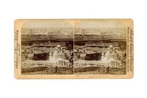 Jerusalem, as Seen from the Mount of Olives, Palestine, 1897 by Underwood & Underwood