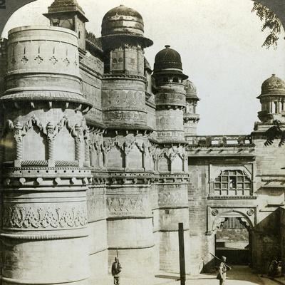 Man Singh Palace, Gwalior, Madhya Pradesh, India, C1900s