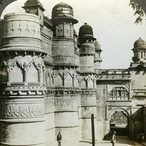 Man Singh Palace, Gwalior, Madhya Pradesh, India, C1900s by Underwood & Underwood