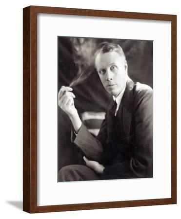 Sinclair Lewis (1885-1951), Photographed by Underwood and Underwood, 1930