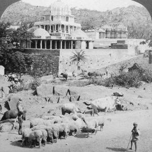Temples of the Jains, Mount Abu, India, 1902 by Underwood & Underwood