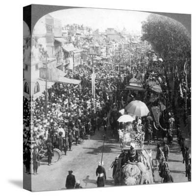 The Duke and Duchess of Connaught and in the Great Durbar Procession, Delhi, India, 1903