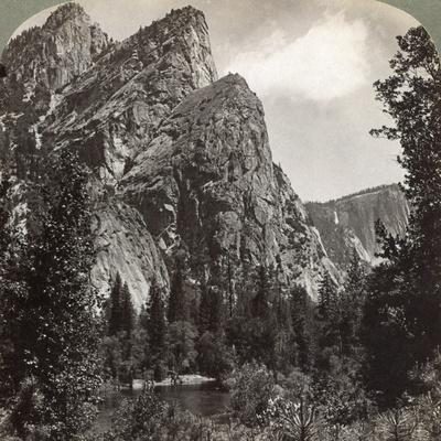 The Three Brothers, Yosemite Valley, California, USA, 1902
