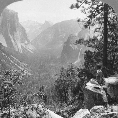 View from Inspiration Point Through Yosemite Valley, California, USA, 1902