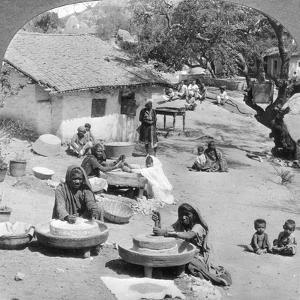 Village Life, India, 1900s by Underwood & Underwood