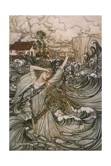 Undine, De La Motte--Giclee Print
