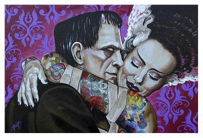 Undying Love-Mike Bell-Art Print