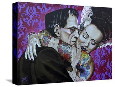 Undying Love-Mike Bell-Stretched Canvas Print