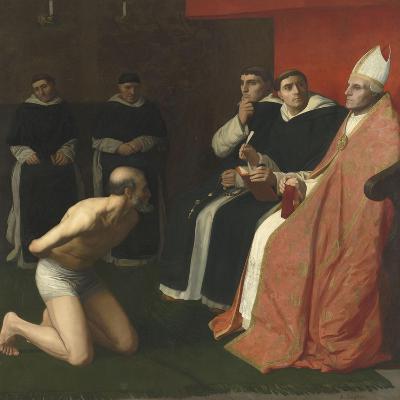 Une amende honorable-Alphonse Legros-Giclee Print