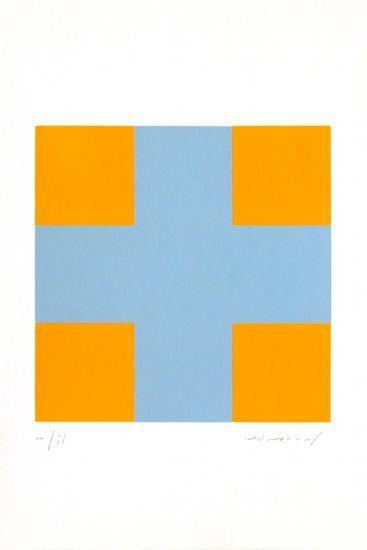 Une croix pour quatre carr?s-Aur?lie Nemours-Limited Edition