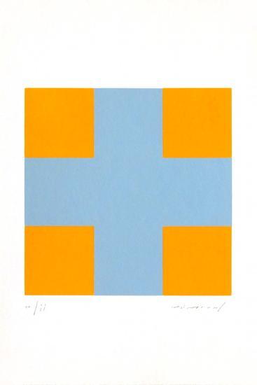 Une croix pour quatre carrés-Aur?lie Nemours-Limited Edition