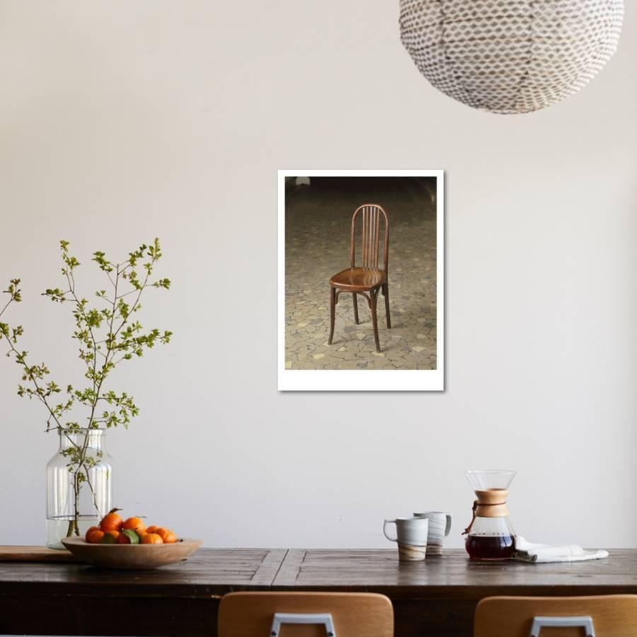 Une Des Mille Cinq Cents Chaises En Bois Courb Commandes Pour La Salle Ftes Du Muse Giclee Print By