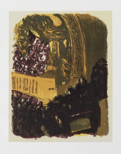 Une Gallerie au Gymnase-Edouard Vuillard-Limited Edition