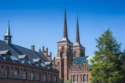 Unesco World Heritage Site the Cathedral of Roskilde, Denmark-Michael Runkel-Photographic Print