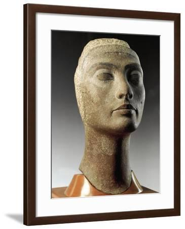 Unfinished Head of Queen--Framed Giclee Print