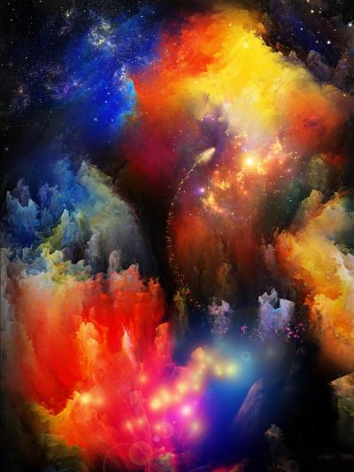 Unfolding Of Fractal Dreams-agsandrew-Art Print