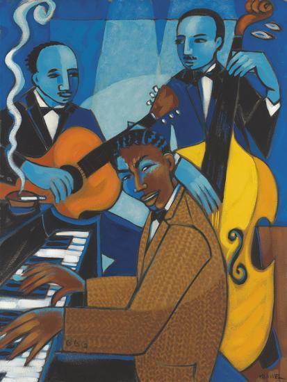 Unforgettable (Nat King Cole)-Marsha Hammel-Giclee Print