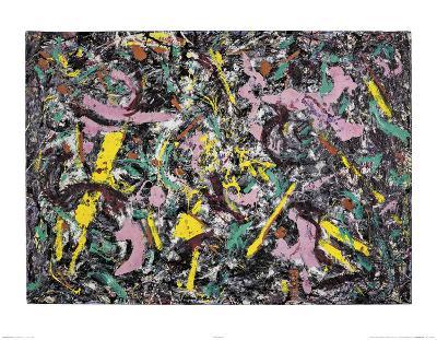 Unformed Figure, 1953 -Jackson Pollock-Art Print