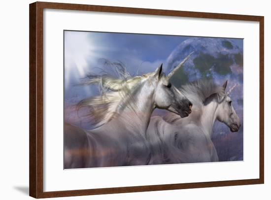 Unicorn 69-Bob Langrish-Framed Photographic Print