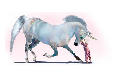 Unicorn Kiss-Nancy Tillman-Art Print