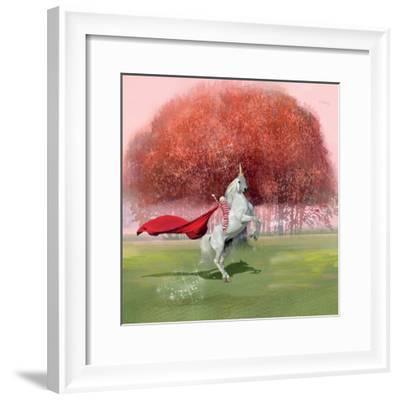Unicorn Ride-Nancy Tillman-Framed Art Print