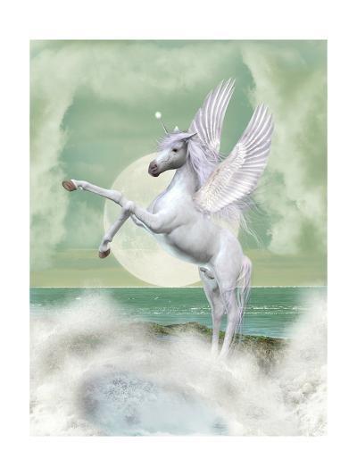 Unicorn-justdd-Art Print