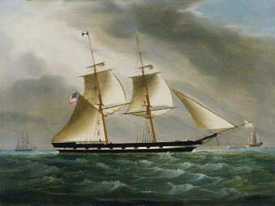 Unidentified American Brig in Chinese Waters--Giclee Print