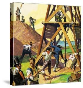 Beautiful Oil Rigs / Fields canvas artwork for sale, Posters