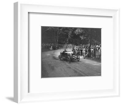 Unidentified open 4-seater competing in the MAC Shelsley Walsh Hillclimb, Worcestershire, 1923-Bill Brunell-Framed Photographic Print