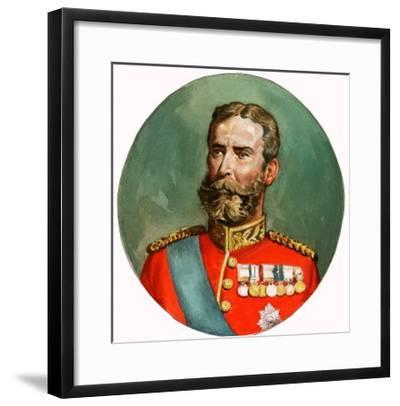 Unidentified Portrait of Much Decorated Man--Framed Giclee Print