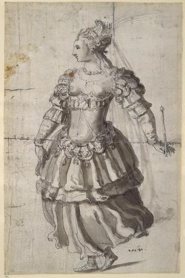 Unidentified Queen-Inigo Jones-Giclee Print