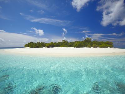 Uninhabited Island, Maldives, Indian Ocean, Asia-Sakis Papadopoulos-Photographic Print