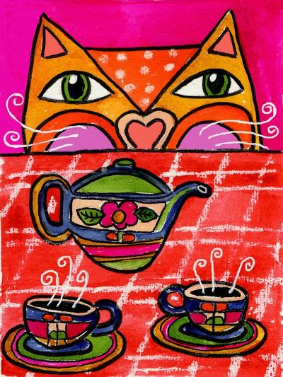 Uninvited Guest for Tea-Wyanne-Giclee Print