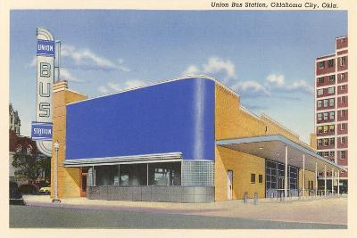 Union Bus Staion, Oklahoma City--Art Print