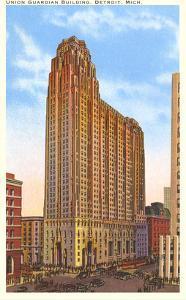 Union Guardian Building, Detroit, Michigan