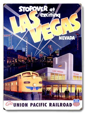 Union Pacific Las Vegas Deco Train